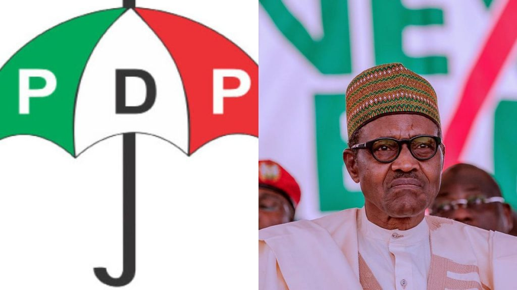 Buhari Will Be The Only President To Emerge From APC Platform, PDP Boasts