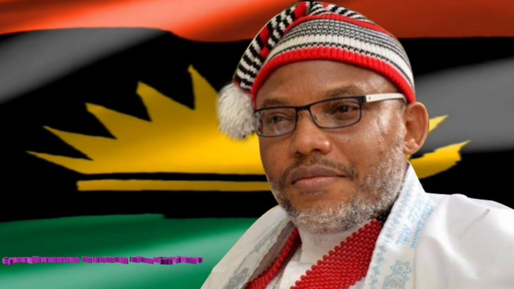 Northern Consensus Movement Declares Kanu Wanted, Places ₦100 Million Bounty