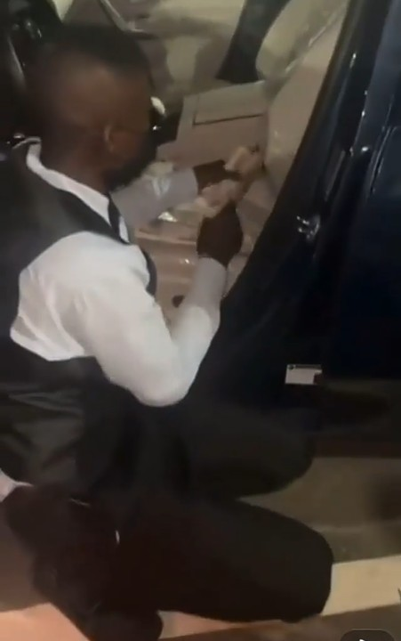Steward Arrested For Trying To Steal Wads Of Naira From A Guest's Car