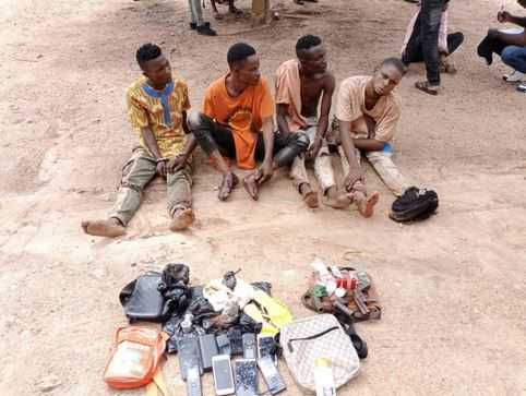 Police Arrest Four Suspected Cultists, Robbers In Osogbo