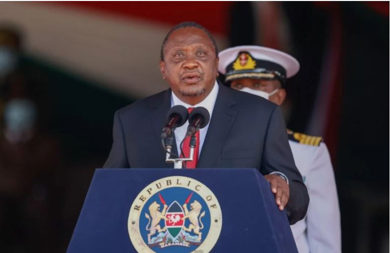 President Uhuru Kenyatta's message to the 34 judges after they were officially sworn in