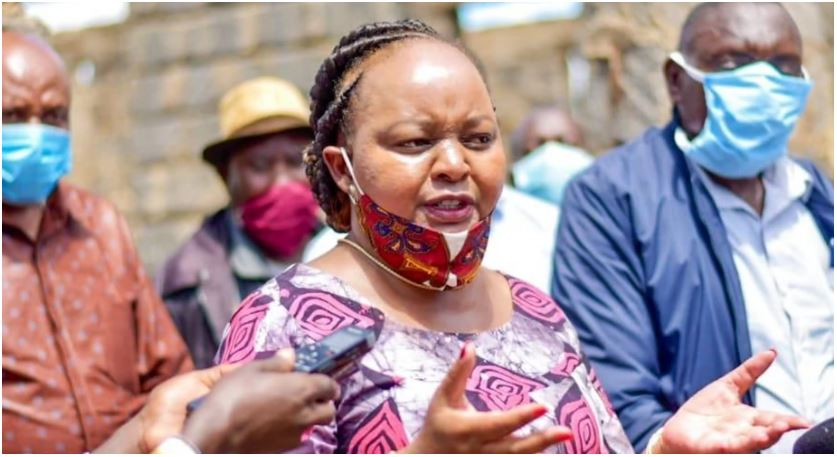 Drama as Governor Anne Waiguru attacked Over Unfair Distribution of County Resources (Video)