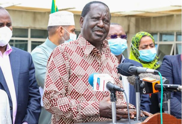 Raila challenges the executive to provide evidence that led to rejection of the six nominated judges