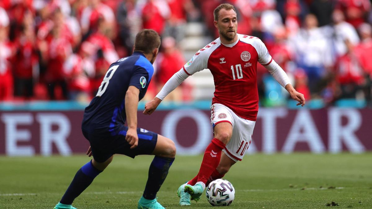 Euro 2020: the nice message from Luis Enrique to Christian Eriksen