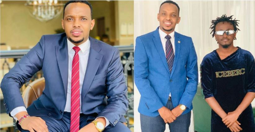 Alinur Mohamed breaks bank comes to Bahati's aid days after KFCB's Ezekiel Mutua cancelled his mega support