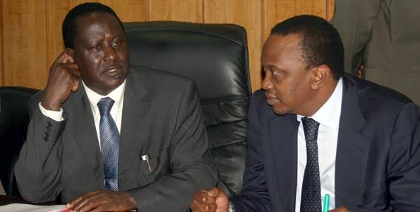 Anxiety Rocks Raila's Camp As President Kenyatta Gives Clue On Supporting Former Governor In The Next Presidential Race
