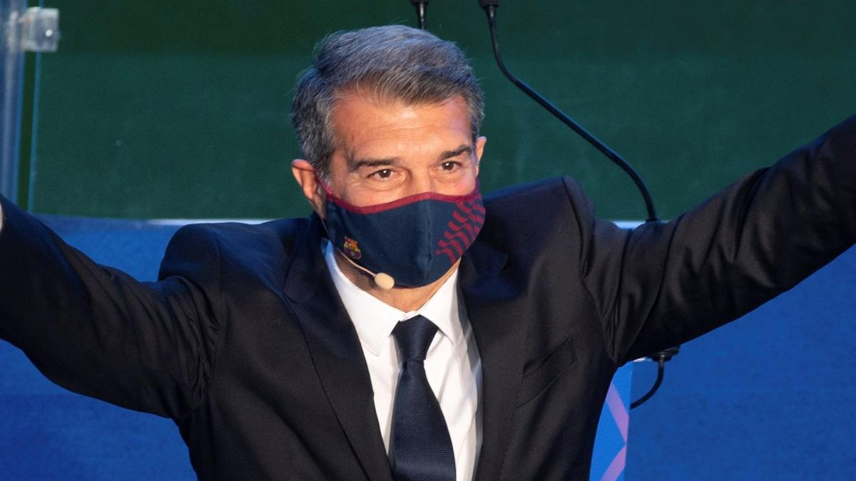 Joan Laporta does not let go of the Super League