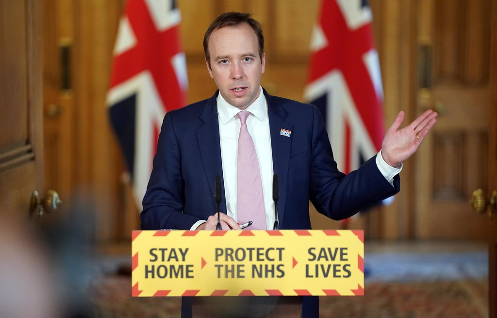 British Health Minister resigns for failing to distance himself