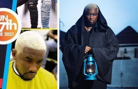 """""""So this is the devil you want to cast out"""" – Dotun reacts after church used his photo to depict a demond"""