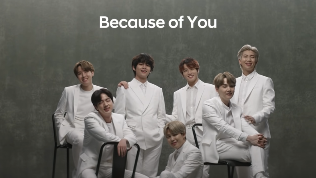 BTS Spot for Hyundai Tops YouTube Global Ad Leaderboard for 2020-21