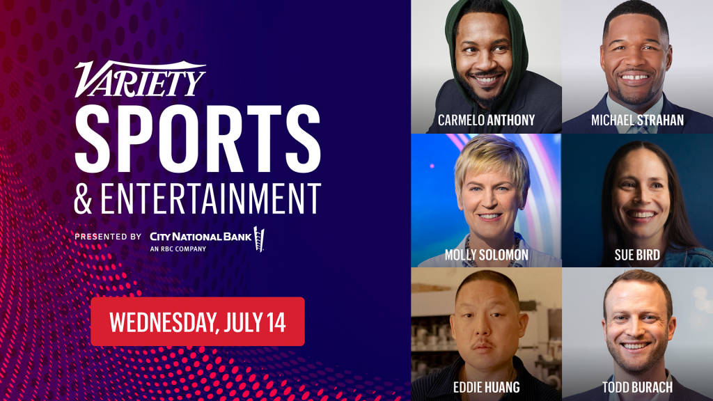 Carmelo Anthony to Keynote Variety Sports and Entertainment Event