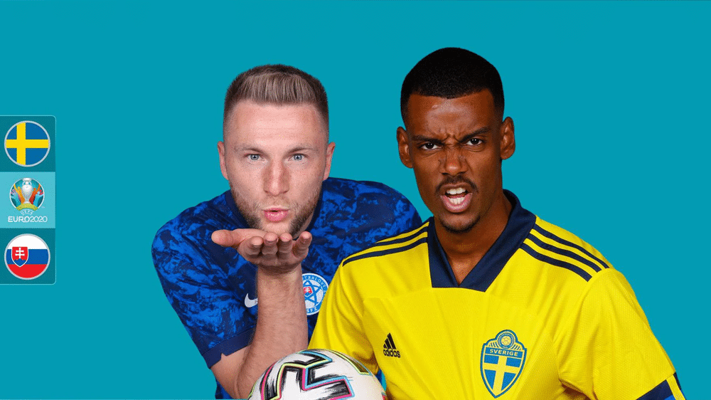Euro 2020: Sweden, Slovakia Seek Crucial Points In Today's Clash