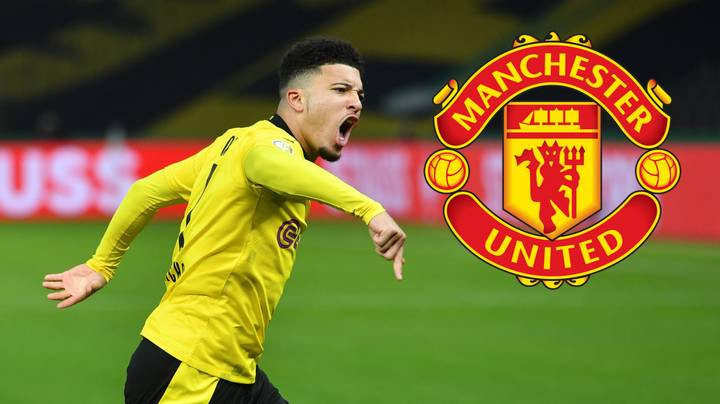 Jadon Sancho To Become Second-Highest Paid Manchester United Player With £350,000-A-Week' Pay