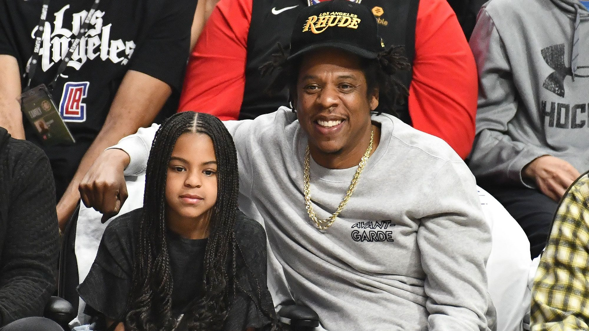 Jay Z said he learned how to swim after Blue Ivy was born