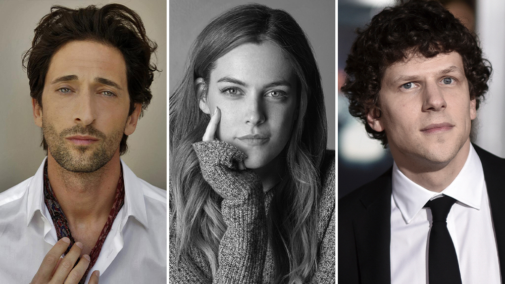 Jesse Eisenberg, Adrien Brody, and Riley Keough Join 'Manodrome'