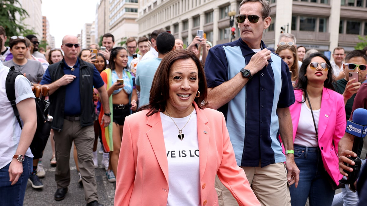 Kamla Harris is First Vice President to Join LGBTQ Pride Parade