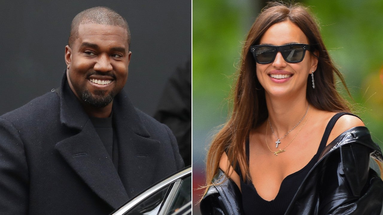 Kanye West and Irina Shayk vacation in France for his birthday