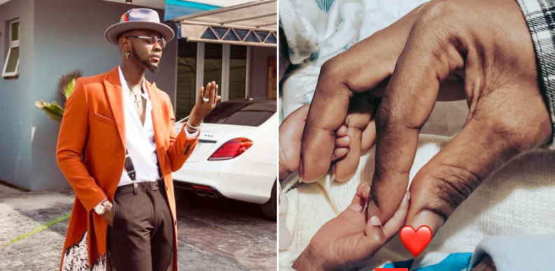 Kizz Daniel shares video of his twins for the first time