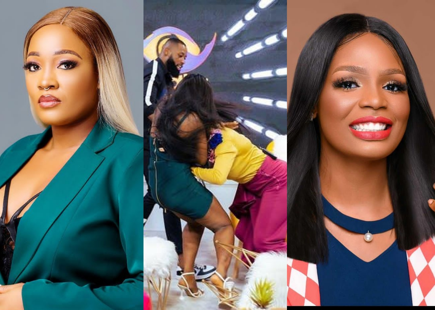 Lucy Fights Dirty With Kaisha During BBNaija Reunion