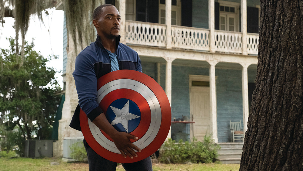 Anthony Mackie, Kathryn Hahn Celebrate Marvel and Disney at FYC Event