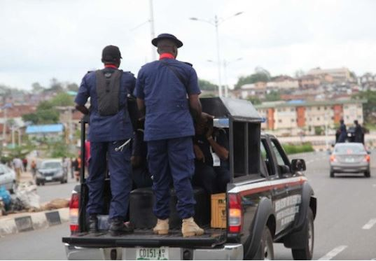 Commotion As NSCDC Official Shoots Bus Driver Dead In Rivers State