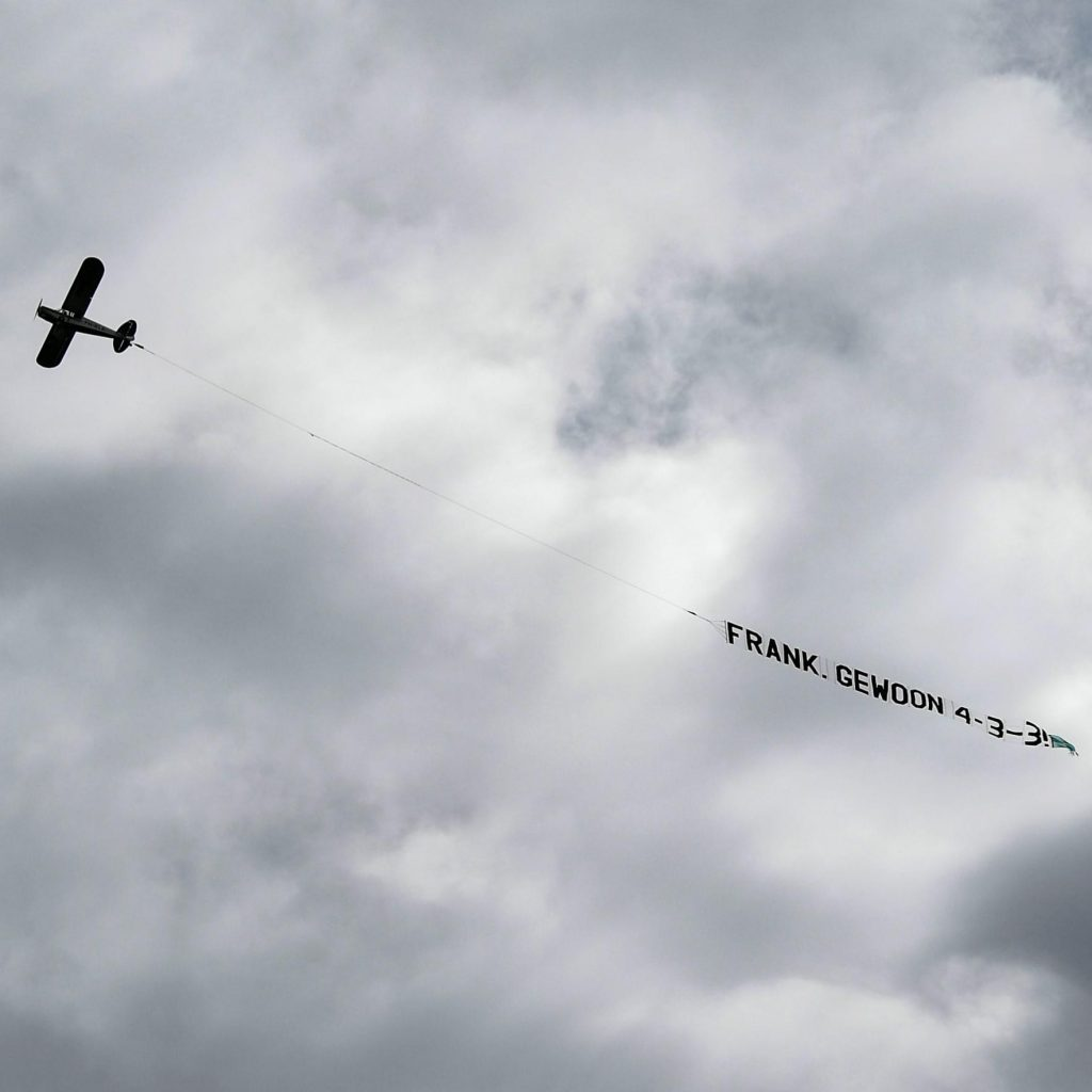 Netherlands Coach Frank De Boer Is Getting Formation Advice From Planes Flying Above His Training Sessions