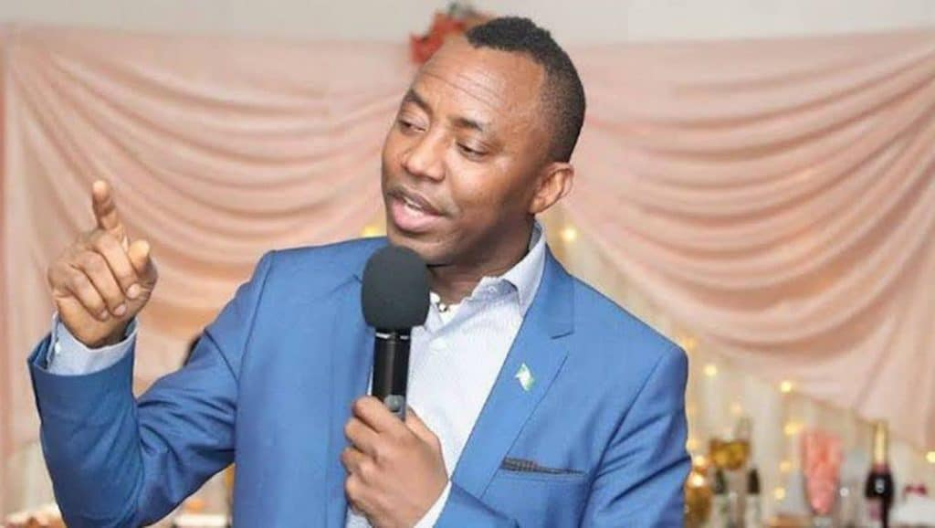 June 12: Sowore Counters NANS, Says The Planned Protest Will Hold