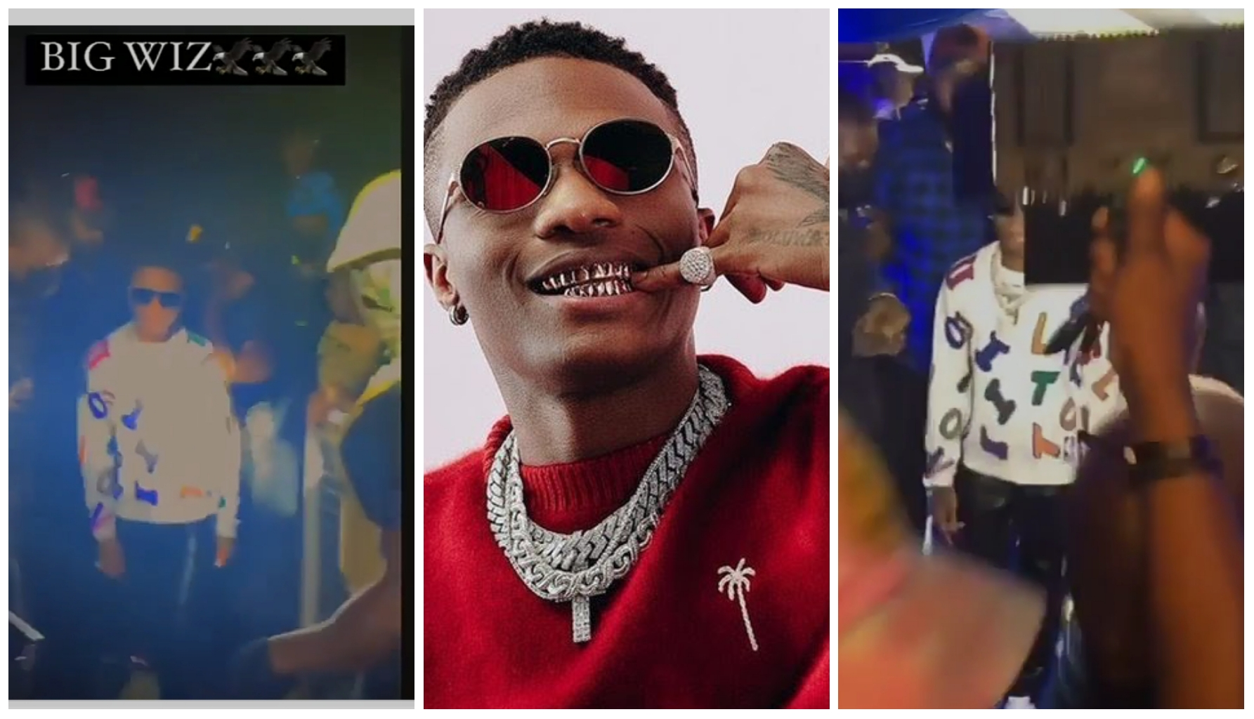 The moment Wizkid arrived in Abuja as fans scream in excitement (Video)