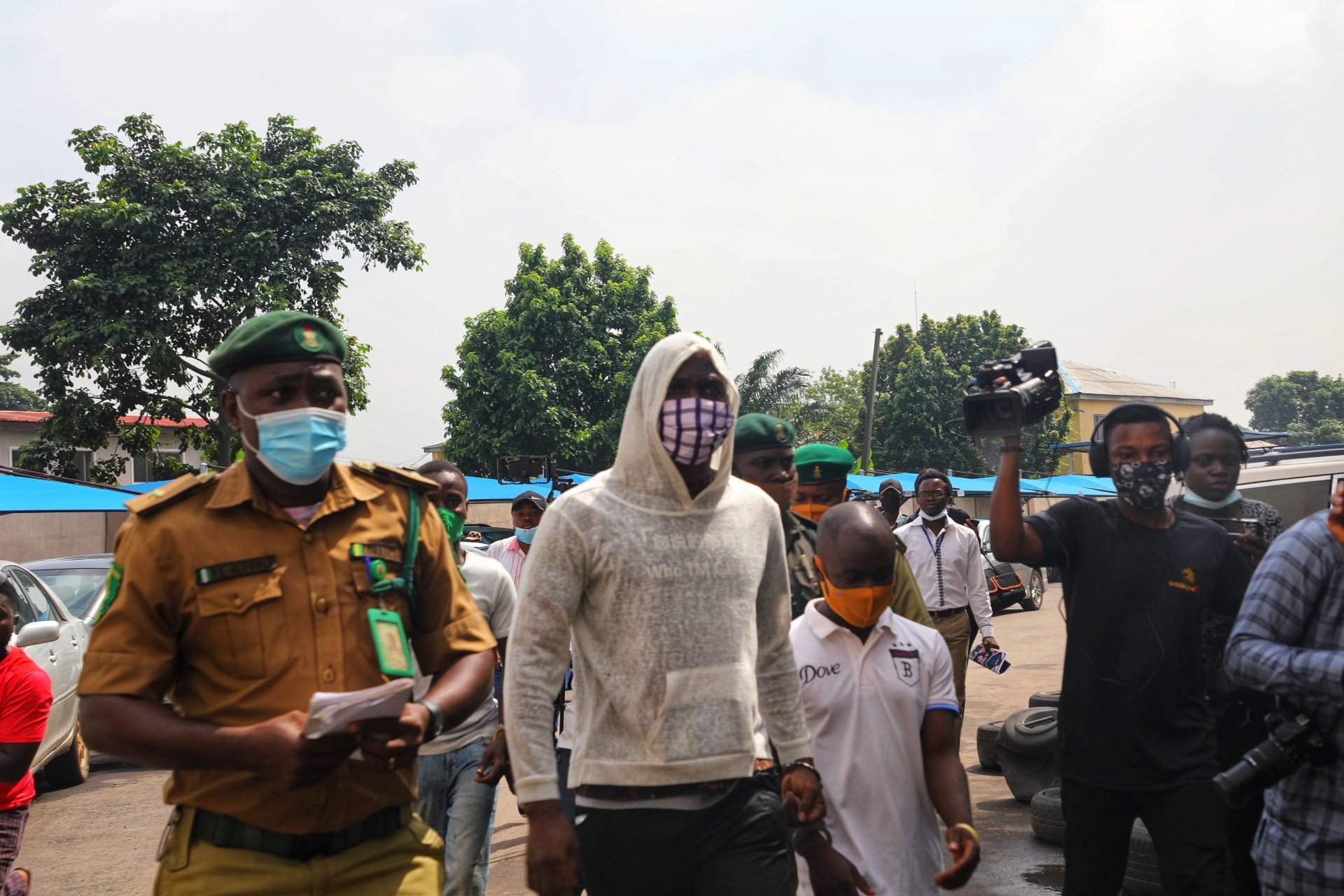 Photos: Baba Ijesha arrives in Court over alleged sexual assault