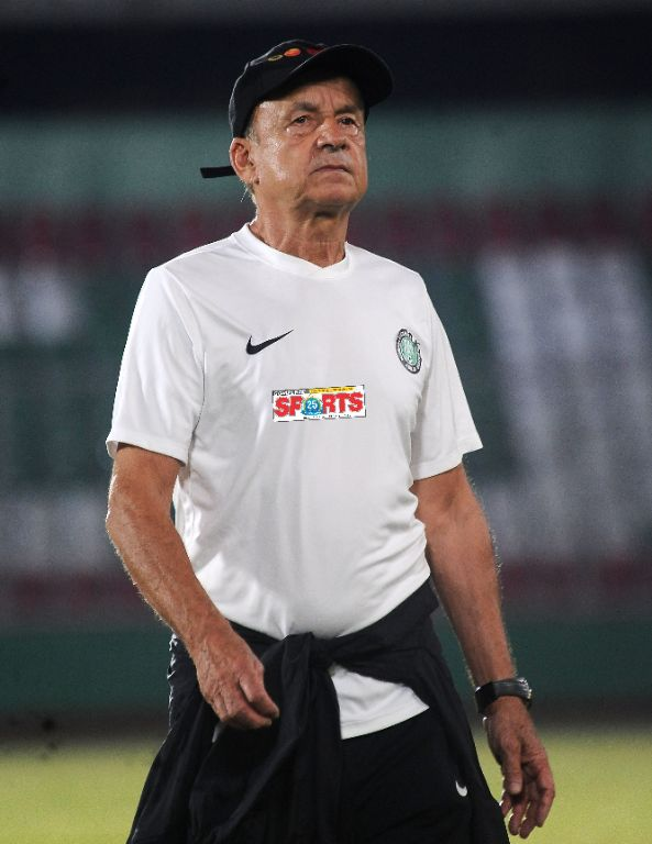 Rohr: My Plan With Home-Based Super Eagles Against Mexico