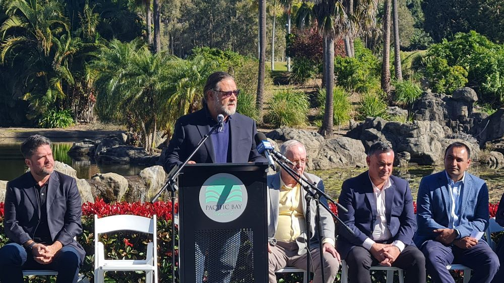 Russell Crowe Launches Pacific Bay Studios in Australia