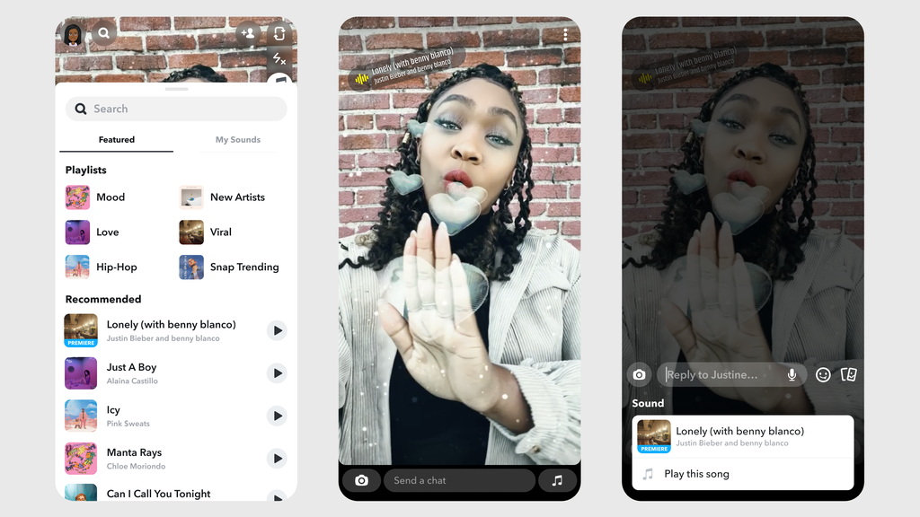 Snap, UMG Ink Global Licensing Deal Covering Snapchat Sounds, More