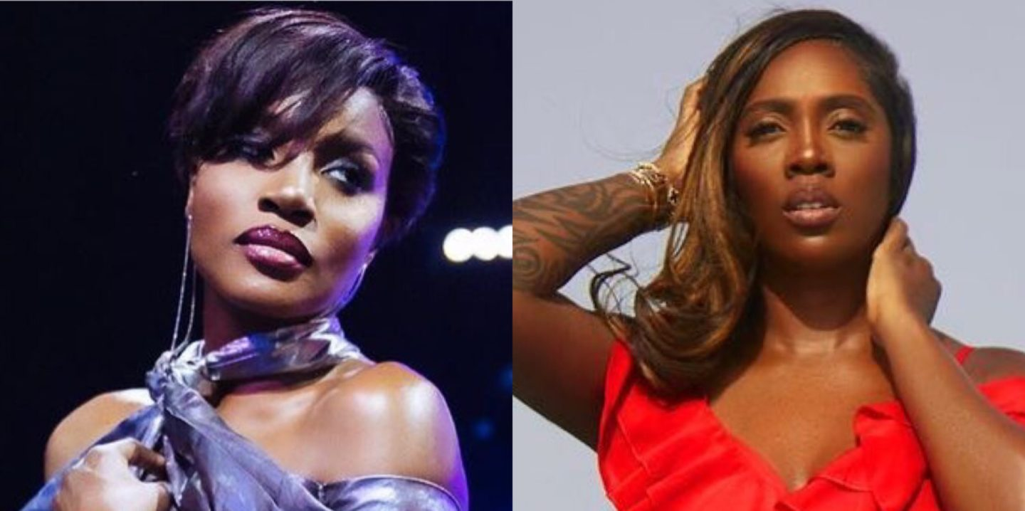 Tiwa Savage Exchanges Words in Clash With Seyi Shay | WATCH FULL VIDEO