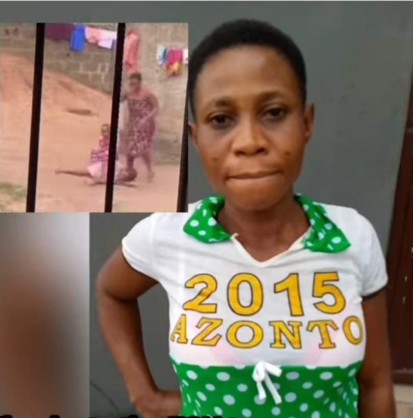 Nigerian Mother Who Was Filmed Abusing Her Daughter While Brushing Her Teeth Has Been Apprehended