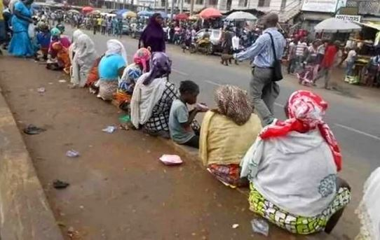 Beggars Dare Oyo Govt, Stage Comeback After Evacuation To Resettlement Centre
