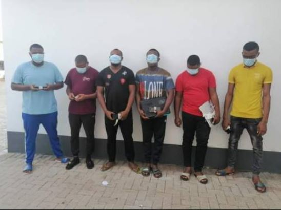 Nigeria's Economic And Financial Crimes Commission Arrests Six For Alleged Internet Fraud In Enugu