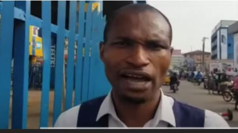 June 12: Police Officer Attacks BBC Journalist, Seizes His Phone During Protest In Ibadan