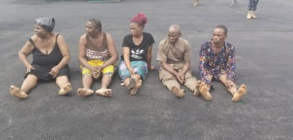 Notorious Female And Male Kidnappers Arrested In Imo State (Photos)