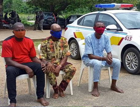 Three Suspects Arrested In Connection With Ibadan Clash (Photos)