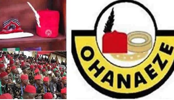 Ohanaeze Attacks Buhari Over Offensive 'Dot In A Circle' Comment