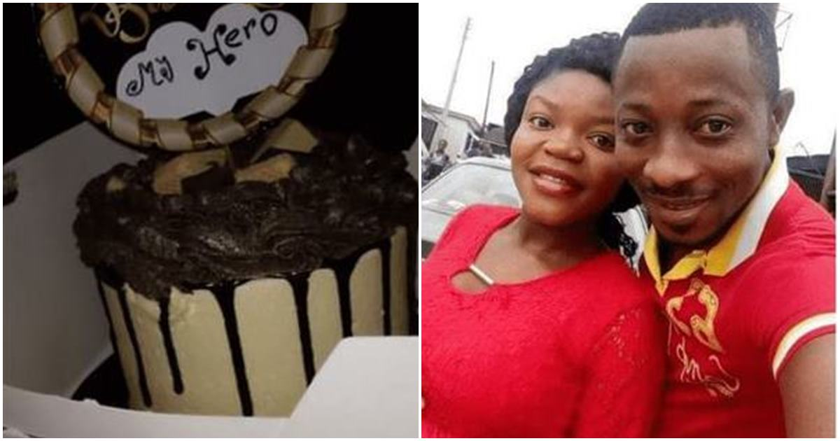 """""""I have never cut a birthday cake since I was born"""" – Man says as he appreciates wife for surprising Him With A Cake"""