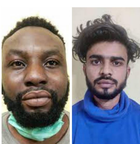 Nigerian, One Other Arrested In India For Drug Trafficking