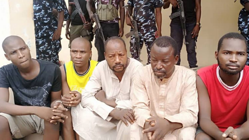 Faces of 10 Robbery And Drug Suspects Arrested In Borno (Photo)