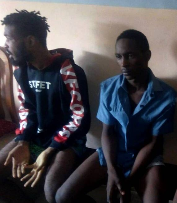 2 Thieves Arrested For Stealing N70,000 From Betting Shop In Imo (Photo)
