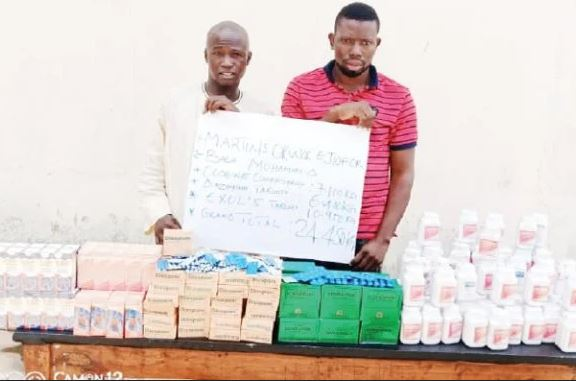 End Of The Road! Suppliers Delivering Drugs To Dangerous Bandits In Niger Land In NDLEA Net (Photo)