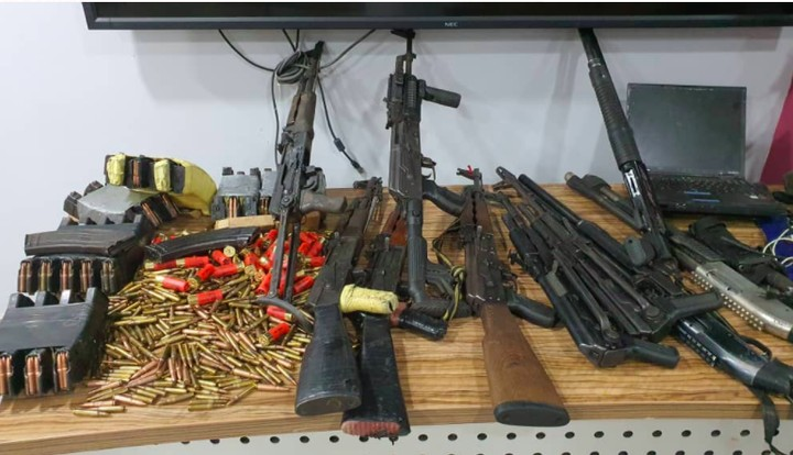 DSS Recovers AK-47 Rifles, Bullets, Bloody Charms From Igboho's House