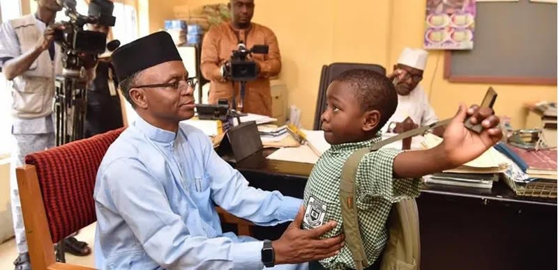 El-rufai: I Withdrew My Son From Public School Because Of Kidnappers