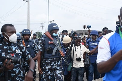 How Yoruba Nation Protesters 'tricked' Security Operatives At Lagos Rally