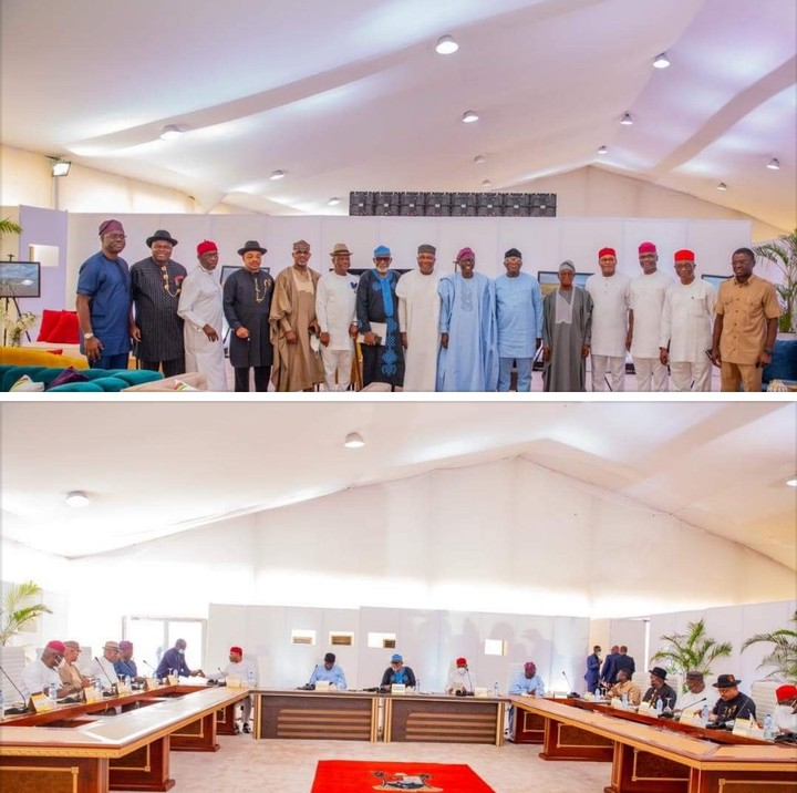 Communique Of The Meeting Of Southern Governors Forum Held On 5/7/2021
