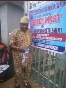 APC Senator Commissions Airtel Mast In Osun As Community Project (Pictures)